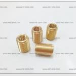 ทองเหลืองต๊าฟเกลียว #14 เกลียวใน 10mm. (4ตัว/ชุด)