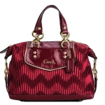 Coach ASHLEY GATHERED SATIN SATCHEL # 20084