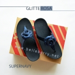 * NEW * FitFlop GLITTEROSA : Supernavy : Size US 6 / EU 37