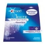 ** พร้อมส่ง ** แผ่นฟอกฟันขาว Crest 3Dwhite Whitestrips Professional Effects พร้อมส่ง ฟรี EMS