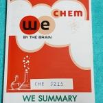 ►วีเบรน◄ CHE 5211 หนังสือกวดวิชา วีเบรนซัมมารี่ We Summary The Winner Edition สรุปเนื้อหาวิชาเคมีทั้งหมด สรุป Idea และเทคนิคสำคัญ พร้อมทั้งตัวอย่างโจทย์ในแต่ละหัวข้ออย่างครบถ้วน เพื่อใช้อ่านทบทวน และสร้างความมั่นใจในการสอบทุกสนาม พิมพ์สีทั้งเล่ม มีภาพน่าร