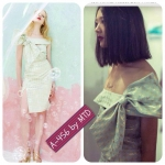 A-456 New Arrival Kloset Bow Printed Dress In Me,Myself And The Sky S/S 2013