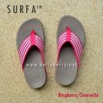 **พร้อมส่ง** Size US 6 / EU 37 ซ FitFlop : SURFA : Raspberry