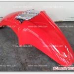 บังโคลนหน้า TZR150, VR150 สีแดง