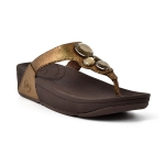 **** FitFlop Lunetta Pale Bronze Size US 7 / EU 38