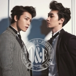 Pre Order / SUPER JUNIOR DONGHAE & EUNHYUK - RIDE ME (CD+DVD +card)
