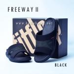 **พร้อมส่ง** FitFlop FREEWAY II : Black : Size US 10 / EU 43