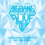 Pre Order / Big Bang (Bigbang) - 2012 BIGBANG Live Concert CD ALIVE tour in SEOUL] [CD + Photo booklet + Family Card + Poster + Tube free presentation]
