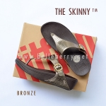 * NEW * FitFlop The Skinny : Bronze : Size US 7 / EU 38