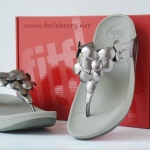 **** fitflop Fleur : Pewter : Size US 6 / EU 37