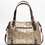 กระเป๋า Coach 3 COLOR SIGNATURE ALEXANDRA # 17580 Brown