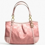COACH ALEXANDRA CHAIN OMBRE SHOULDER BAG TOTE  # 22527  สี BRASS/PEACH MULTICOLOUR