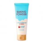 Preorder Etude Baking powder B.B Deep Cleansing Foam 160ml 베이킹 파우더 B.B딥 클렌징폼 8000 won โฟมล้างหน้าผงฟูสูตรใหม่ ชำระล้างผิวหน้าให้สะอาดหมดจด แม้บีบีครีมยังต้องยอมสยบ