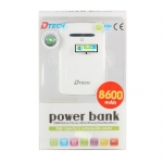 "POWER BANK 8600 mAh ""DTECH"""