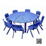 2SPO-1009B โต๊ะกลม พร้อมเก้าอี้ 8 ตัว