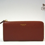 Coach Legacy Leather Slim Zip Wallet # 48178