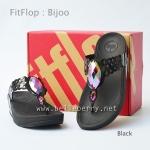 **พร้อมส่ง** FitFlop Bijoo : Black : Size US 8 / EU 39