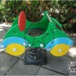 PP-NW07 สปริงโยกเยกรถสีเขียว