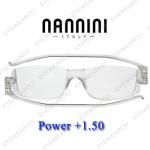 แว่นอ่านหนังสือ Nannini ทรงใหญ่ เบอร์ +150