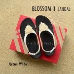 **พร้อมส่ง** FitFlop : BLOSSOM II Sandal : Urban White : Size US 8 / EU 39