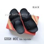 * NEW * FitFlop Men's : GOGH MOC Slide : Black : Size US 12 / EU 45
