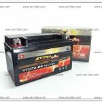 แบตเตอร์รี่แห้ง STORM RIDER YTX7A-BS (12V/7AH) JRD