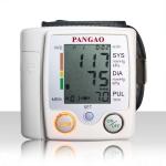 เครื่องวัดความดันโลหิต และวัดชีพจร แบบรัดข้อมือ PANGAO