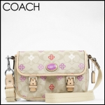 Coach PEYTON SIGNATURE CLOVER FIELD BAG # 48828