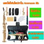 แซกโซโฟนโซปราโน Saxophone Soprano Bb สีทอง