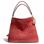 COACH MADISON PHOEBE SHOULDER BAG IN GATHERED TWIST LEATHER # 25260