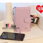 """""""พร้อมส่ง""""กระเป๋าใส่ iPhone แบบม้า -สีม่วงอ่อน"""