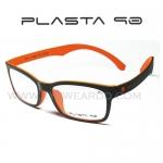 Plasta 90 รุ่น P1 สี ดำ-ส้ม