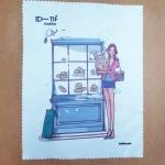 ผ้าเช็ดเลนส์ micro-fiber พิมพ์ลาย pretty bakery