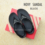 **พร้อมส่ง** New 2015 : NOVY SANDAL : Black : Size US 5 / EU 36