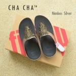 **พร้อมส่ง** FitFlop Cha Cha : Nimbus Silver : Size US 8 / EU 39