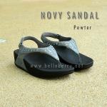 **พร้อมส่ง** New 2015 : NOVY SANDAL : Pewter : Size US 6 / EU 37