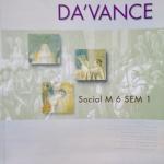หนังสือกวดวิชา Da'vance วิชาสังคมศึกษา ม.6 เทอม 1