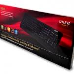 USB Multi Keyboard OKER (KB-S6) Black