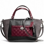 COACH PARK QUILTED LEATHER MINI TOTE CROSSBODY # 49865