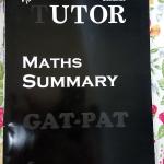 [Tutor] Maths Summary สรุปสูตรคณิตศาสตร์ PAT 1