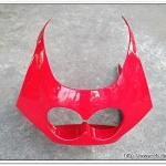 หน้ากาก TZR สีแดง