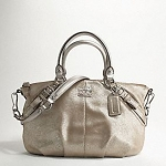 COACH MADISON LEATHER SOPHIA SATCHEL # 15960
