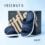 **พร้อมส่ง** FitFlop FREEWAY II : Navy : Size US 9 / EU 42
