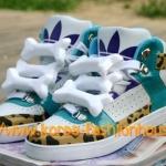[พร้อมส่ง]รองเท้าผ้าใบหุ้มข้อติดกระดูก didas Original by Jeremy Scott รุ่น JS Bones ไซส์ 39#41#43#