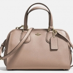 COACH NOLITA SATCHEL IN CROSSGRAIN LEATHER # 36392 สี STONE
