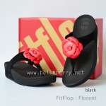 **พร้อมส่ง** FitFlop Florent : Black : Size US 6 / EU 37