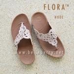 **พร้อมส่ง** รองเท้า FitFlop FLORA Sparkle : Nude : Size US 8 / EU 39