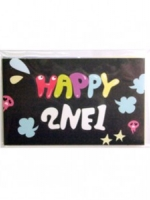 Pre Order / 2NE1 - CRUSH-HAPPY STICKER SET