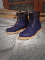 รองเท้าผู้ชาย   รองเท้าแฟชั่นชาย Blue Boots หนังนูบัคแท้ กันน้ำ