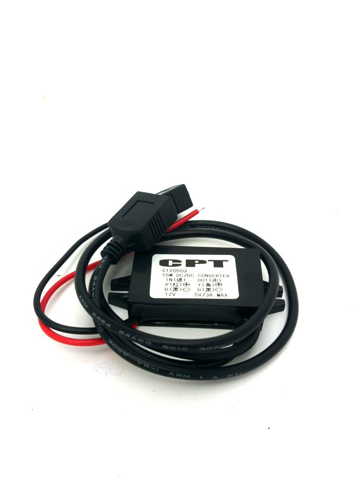 วงจรแปลงไฟ 12V เป็น USB 5V 3A  2ช่อง กันน้ำ